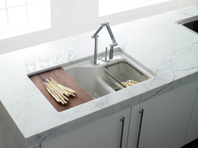Keuken Wasbak Verstopt : De mooiste snijplanken verstop je niet – Roomed