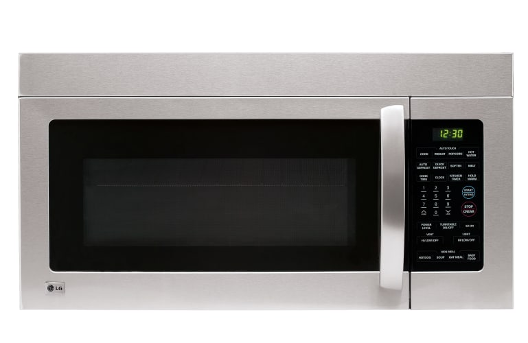 LG LMV1680 1.6 Cubic Foot Over the Range 1000 Watt Microwave Oven