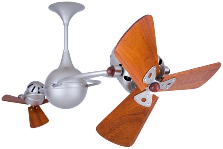 Matthews Fan Company IV-WD Handmade Ceiling Fan from the Italo Ventania Collection