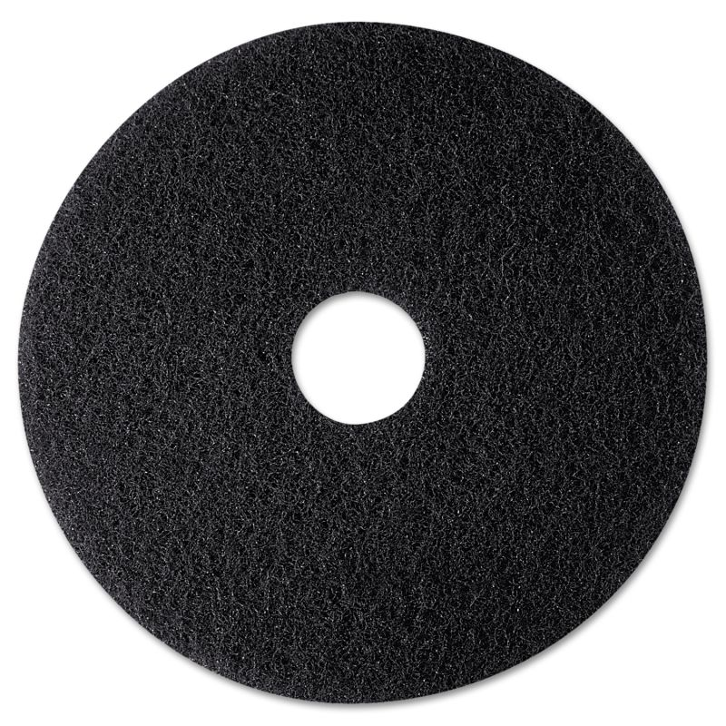 3M MMM08270 High Productivity Floor Pad 7300 12 Black 5 Count