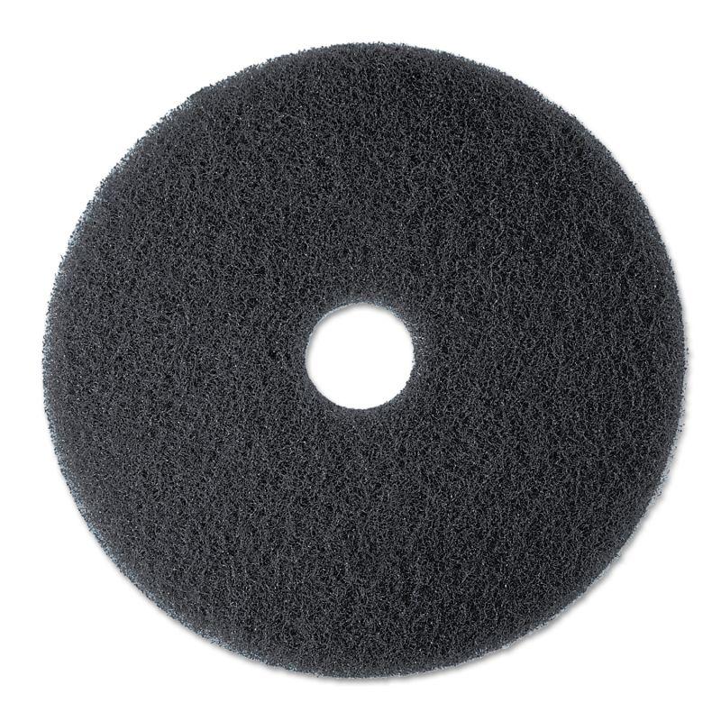 3M MMM08277 High Productivity Floor Pad 7300 19 Black 5 Count