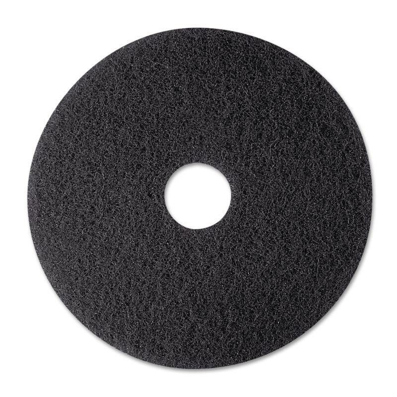3M MMM08374 Stripper Floor Pad 7200 12 Black 5 Count