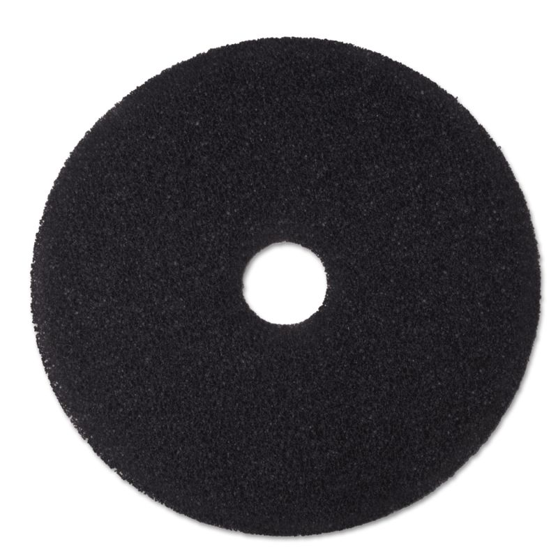 3M MMM08382 Stripper Floor Pad 7200 20 Black 5 Count