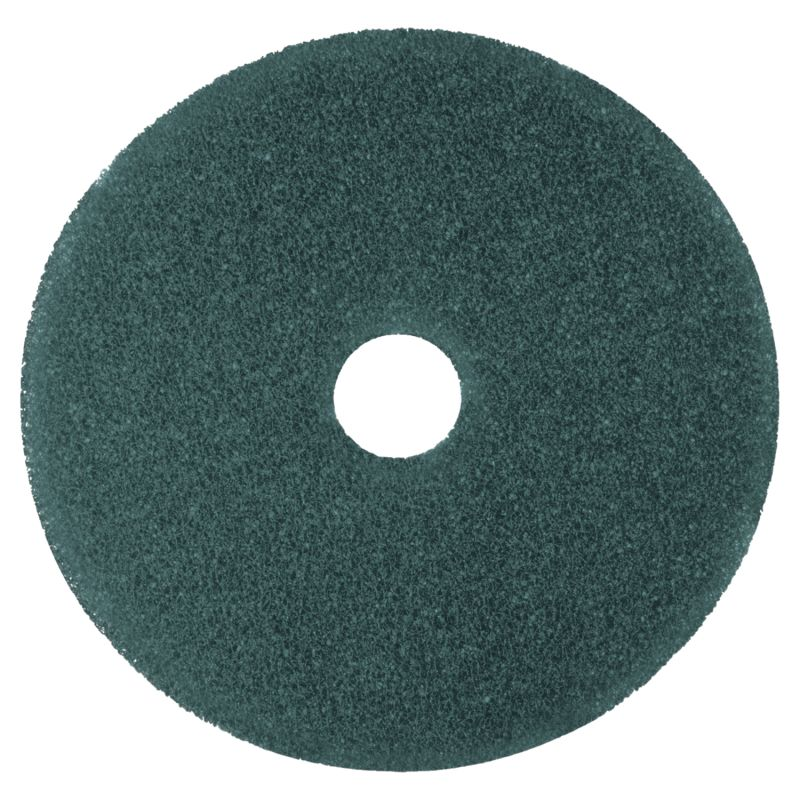 3M MMM08410 Cleaner Floor Pad 5300 17 Blue 5 Count