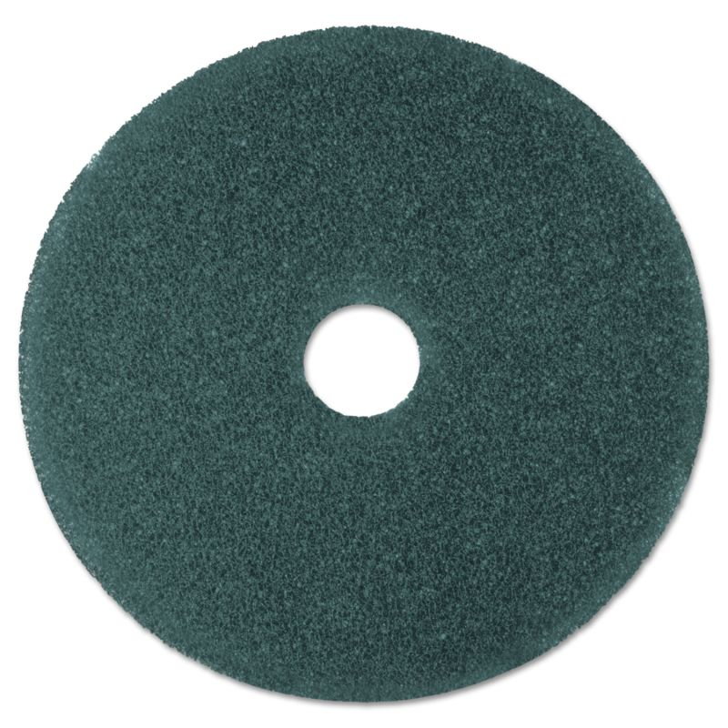 3M MMM08412 Cleaner Floor Pad 5300 19 Blue 5 Count
