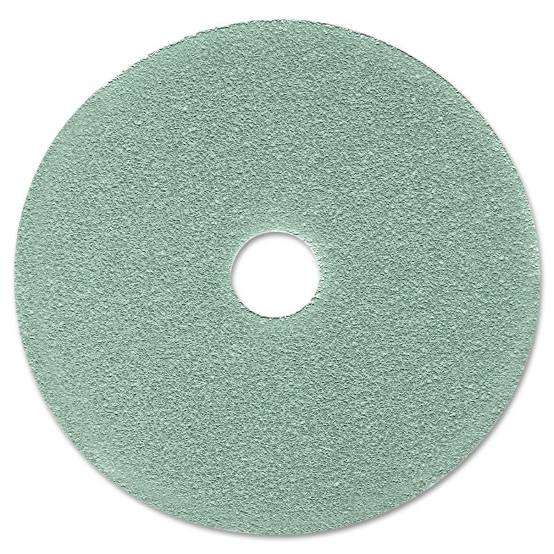 3M MMM08752 Burnish Floor Pad 3100 19 Aqua 5 Count