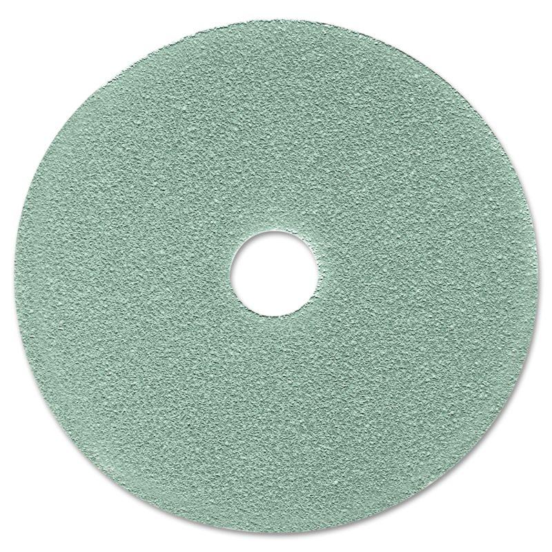 3M MMM08752 Burnish Floor Pad 3100 19 Aqua 5 Count