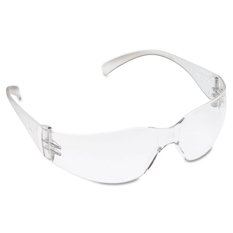 3M MMM113260000020 Virtua Protective Eyewear Clear Frame Clear Hard Coat Lens