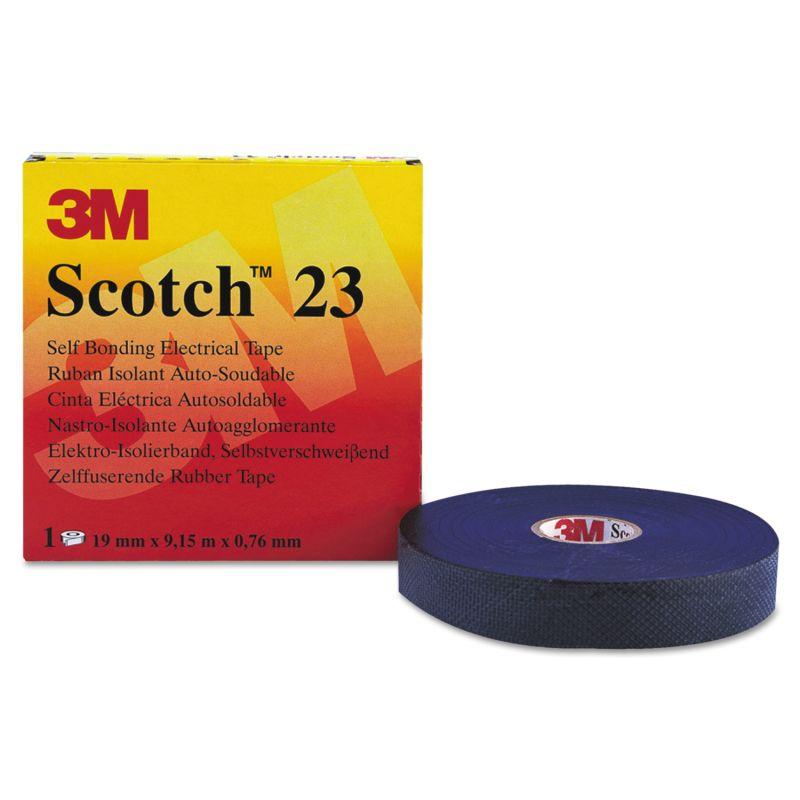 3M MMM15025 Scotch 23 Rubber Splicing Tape 34 x 30 Ft