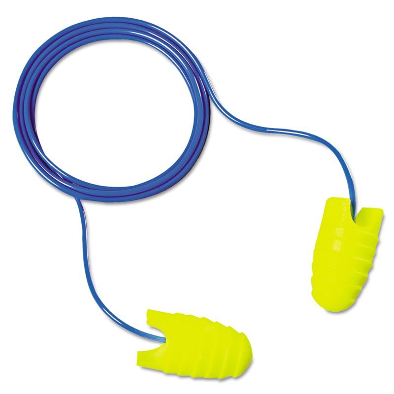 3M MMM3126001 E A Rsoft Grippers Earplugs Corded NRR 31 200 Pairs