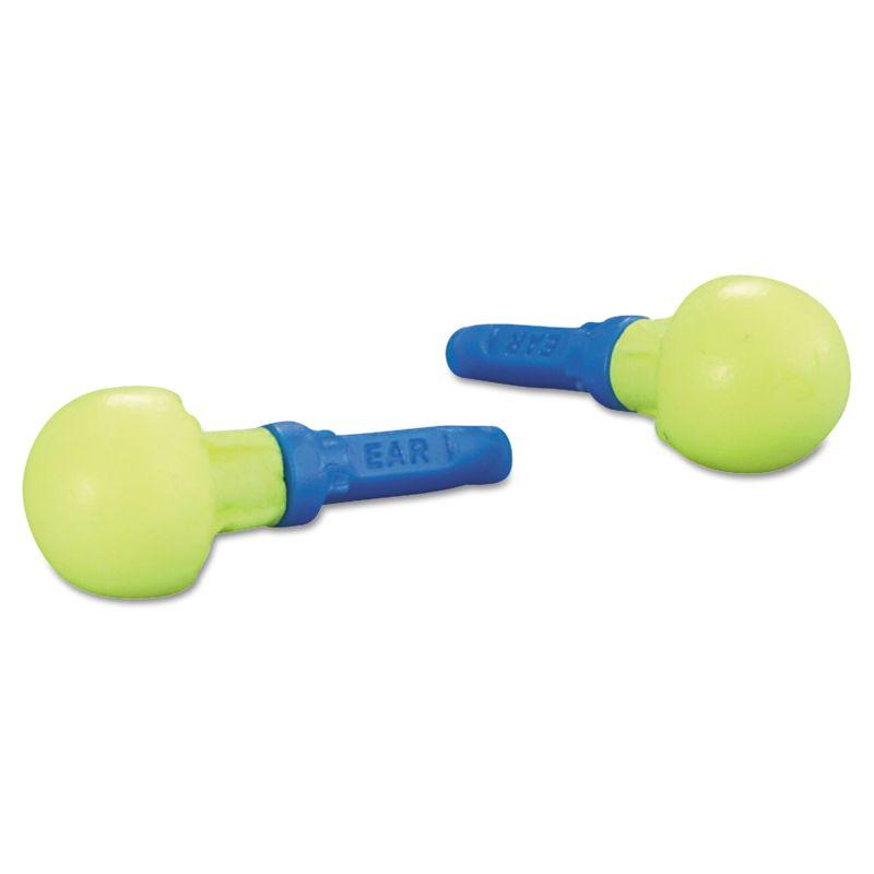 3M MMM3181000 E A R Push Ins Earplugs Cordless 28 NRR Yellow Blue 100 Pairs