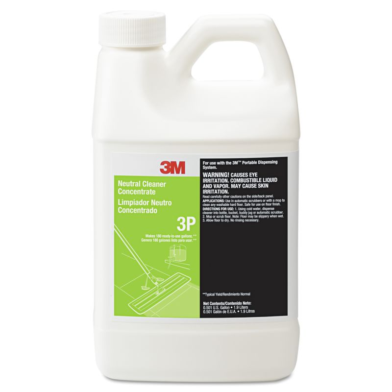 3M MMM3P Neutral Cleaner Concentrate 3P Fresh Scent 19 liter Bottle 6 Count