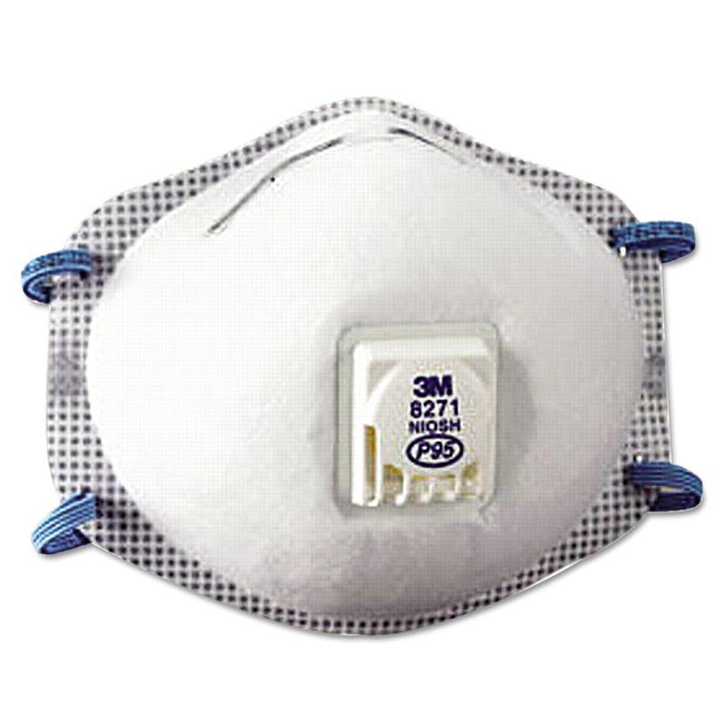 3M MMM8271 Particulate Respirator 8271 P95 10Box