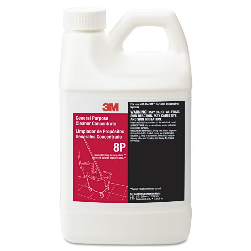 3M MMM8P General Purpose Cleaner Concentrate 8P Citrus 19 liter Bottle 6 Count