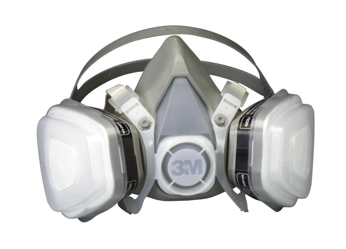 3M 52P71PC1 B Low Profile Lightweight Paint Respirator