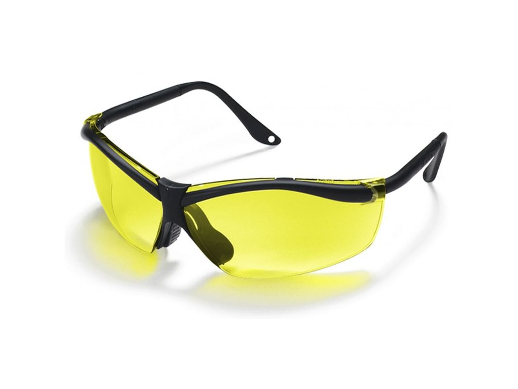 3M 90966 80025T X Factor 4 Yellow Lens Safety Glasses