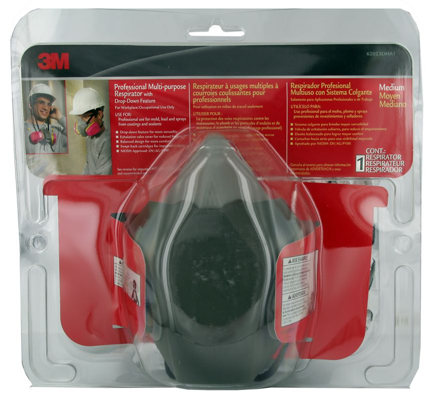 3M 62033DHA1 C Professional Multipurpose Drop Down Respirator