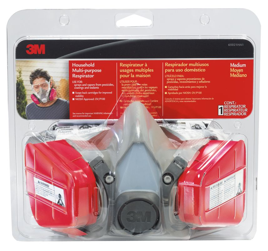 3M 65021HA1 C Household Multi Purpose Respirator