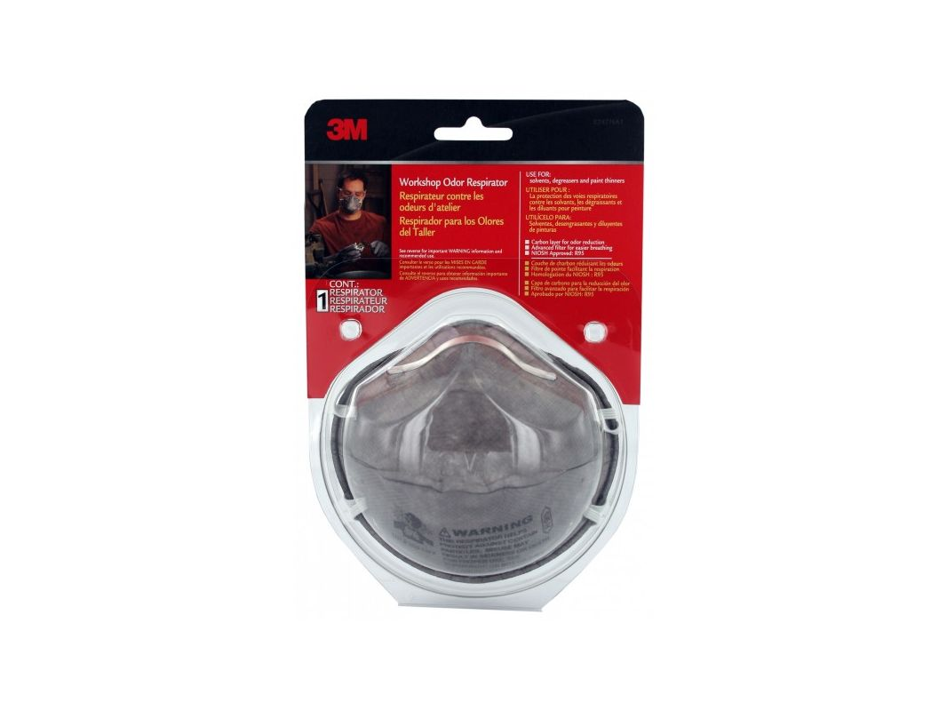 3M 8247HA1 C Workshop Odor Respirator 1 Pack