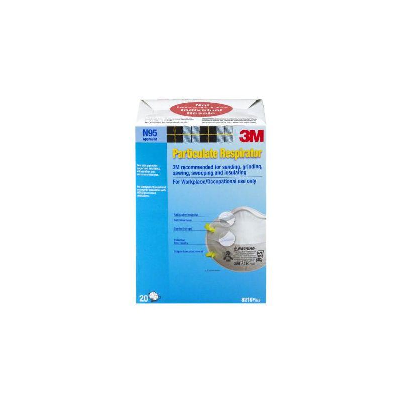 3M 8210PB1 A N95 Particulate Respirator 20 Pack