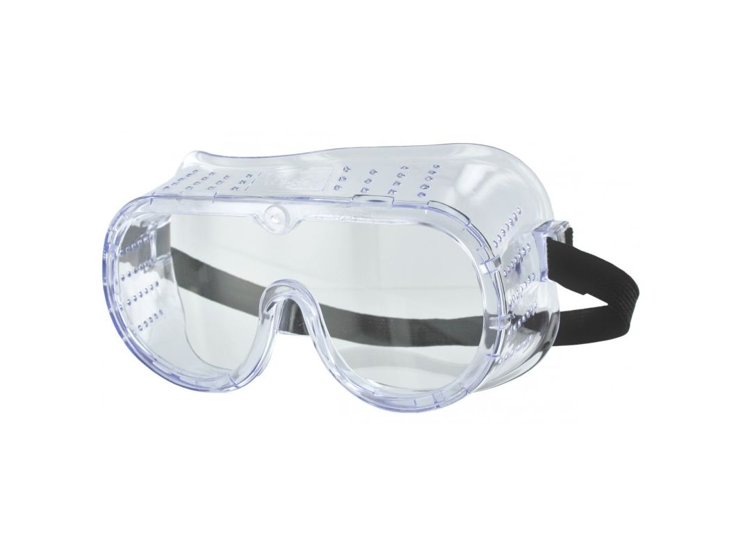 3M 91252 80024T Chemical Splash and Impact Goggle