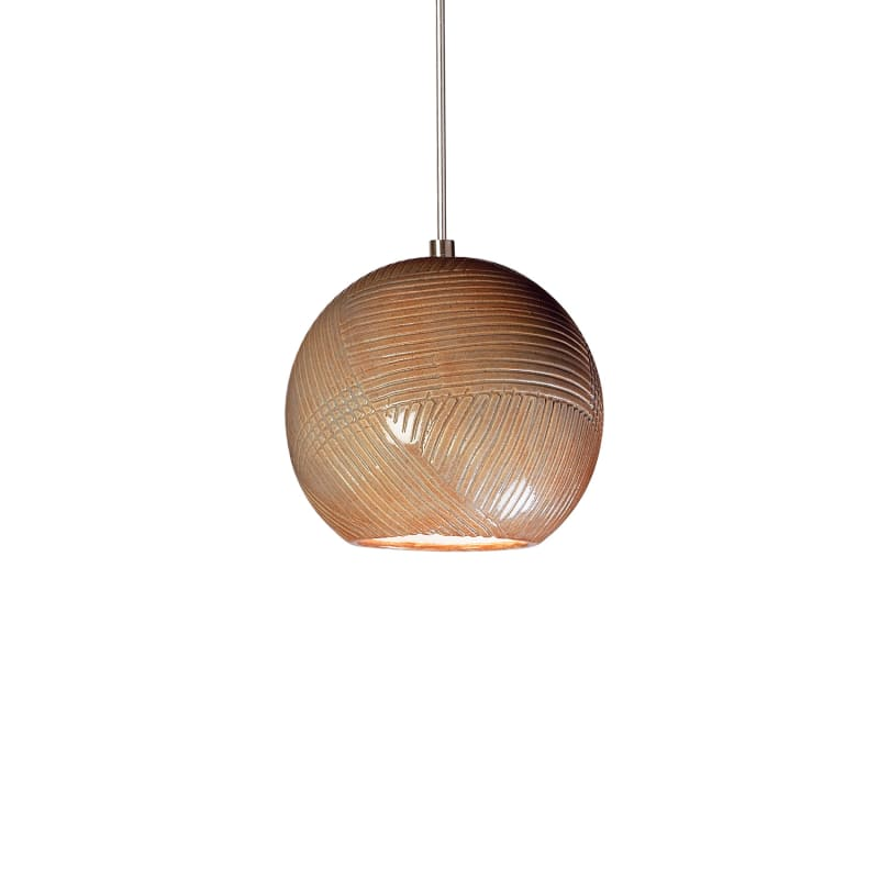 A19 LVMP01 Twine One Light Mini Pendant from the Studio Collection