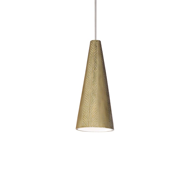 A19 LVMP04 Fossil One Light Mini Pendant from the Studio Collection