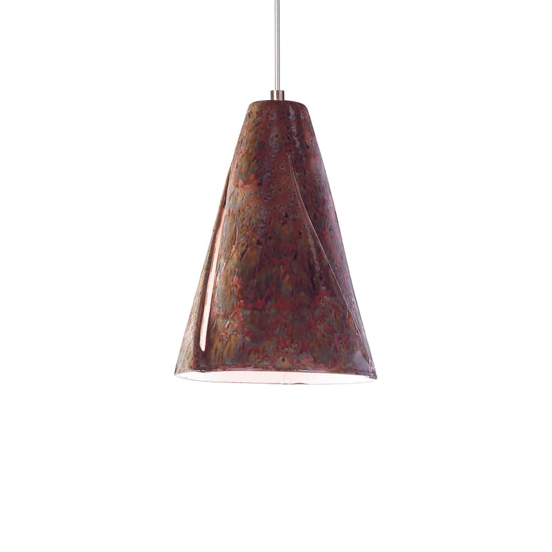 A19 LVMP05 Whirl One Light Mini Pendant from the Studio Collection