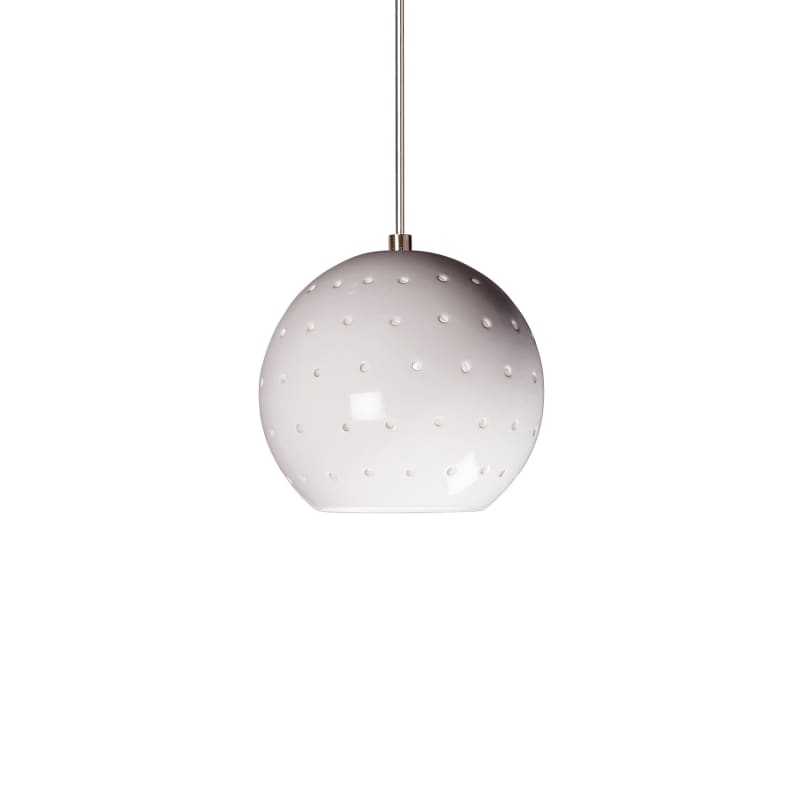 A19 LVMP17 Lunar One Light Mini Pendant from the Studio Collection