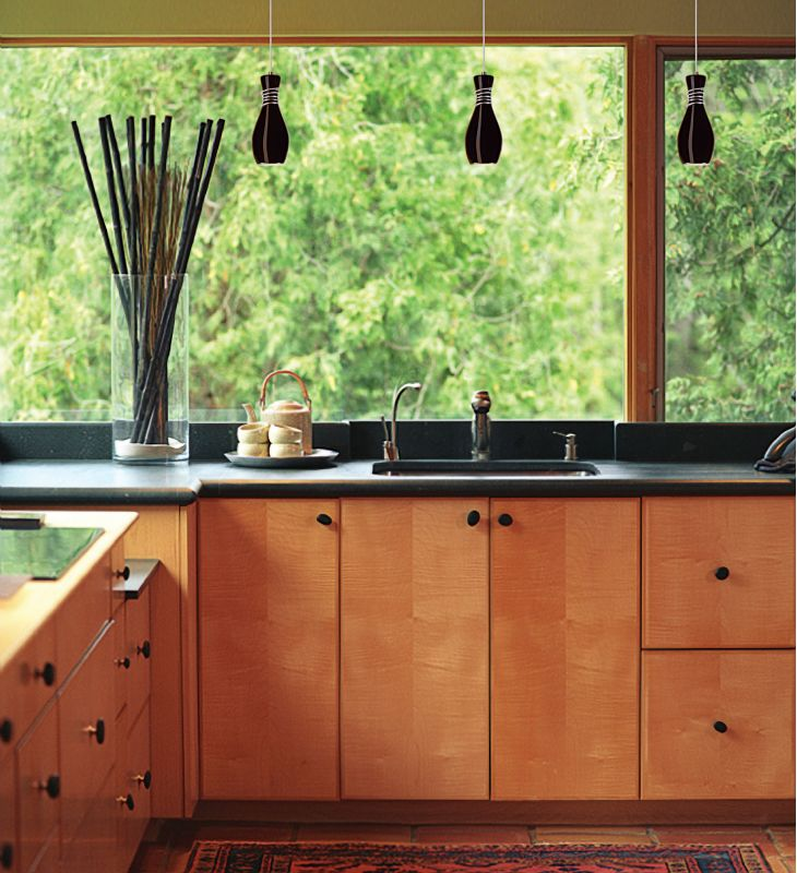 A19 LVMP19 Amphora One Light Mini Pendant from the Studio Collection