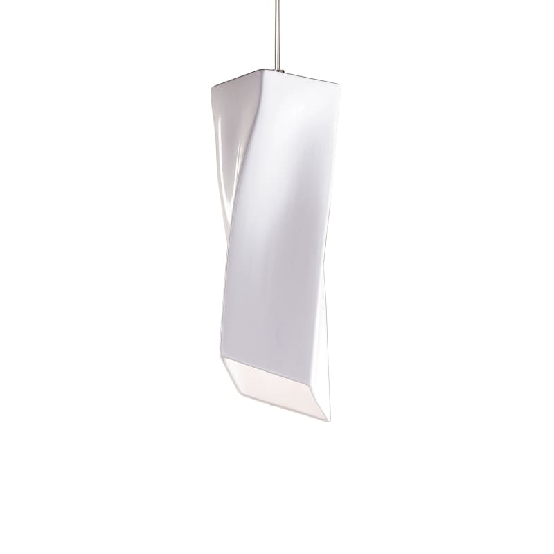A19 LVMP21 Twister One Light Mini Pendant from the Studio Collection