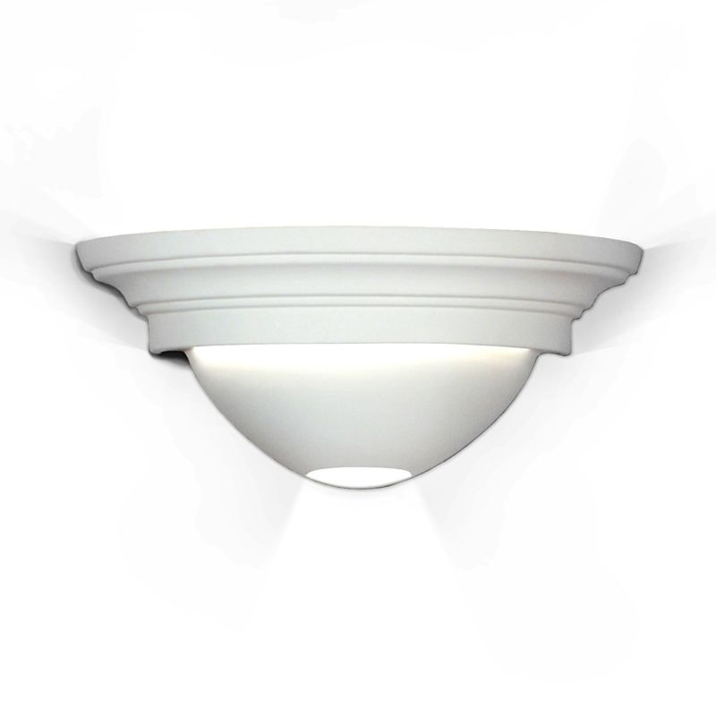 A19 104ADA Ibiza One Light Wall Sconce from the Islands of Light Collection