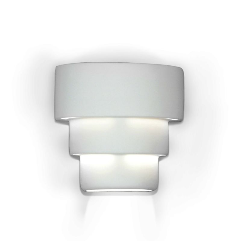 A19 1403 One Light 975 Wide Bathroom Fixture from the Islands of Light Collect