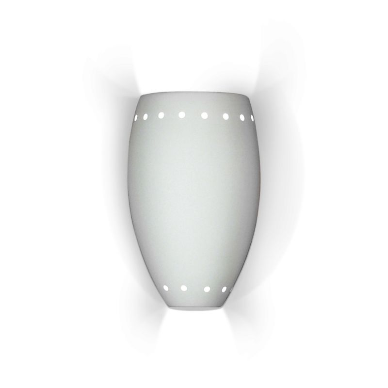 A19 1504 Barbados One Light Wall Sconce from the Islands of Light Collection
