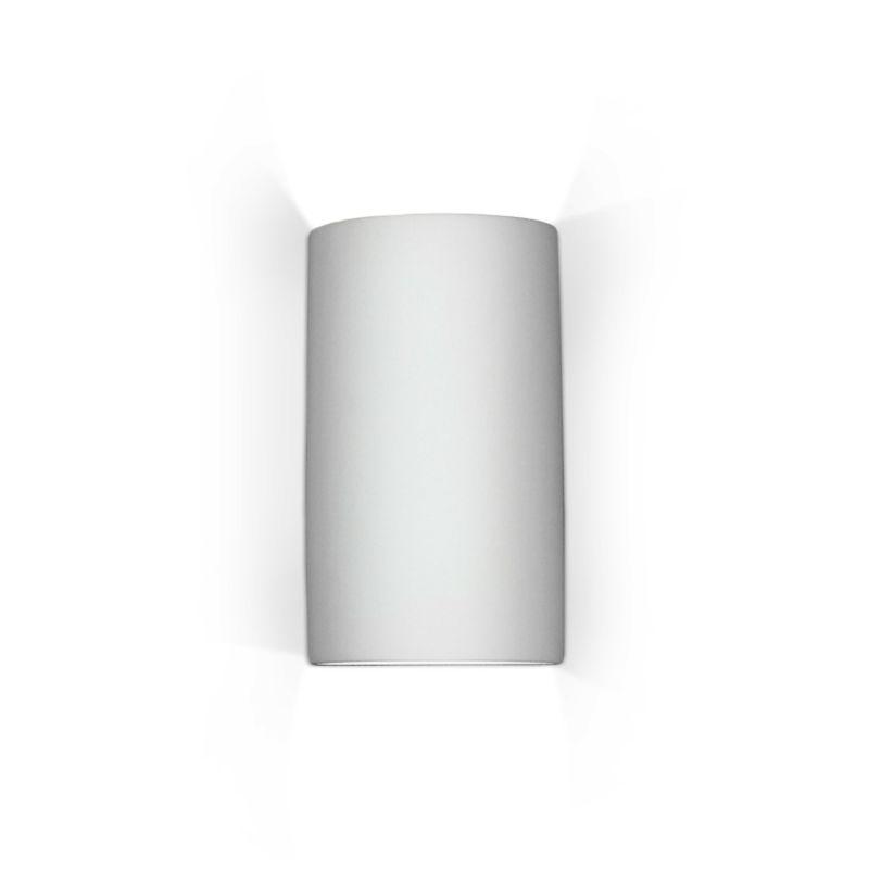 A19 204 Modern Cylinder Sconce Gran Tenos Ceramic Light Fixture from the Islan