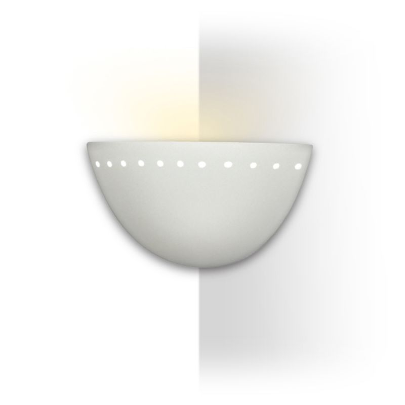 A19 306CNR Gran Cyprus One Light Corner Sconce from the Islands of Light Colle