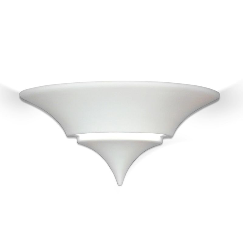 A19 401 One Light 15 Wide Bathroom Fixture from the Islands of Light Collectio