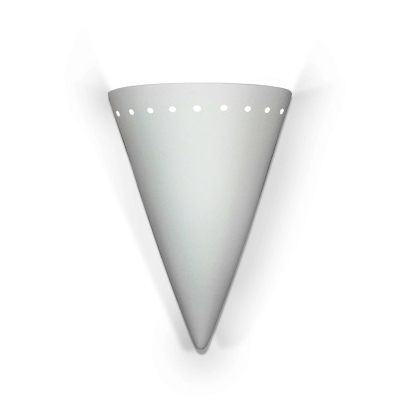 A19 803 Zealandia One Light Wall Sconce from the Islands of Light Collection