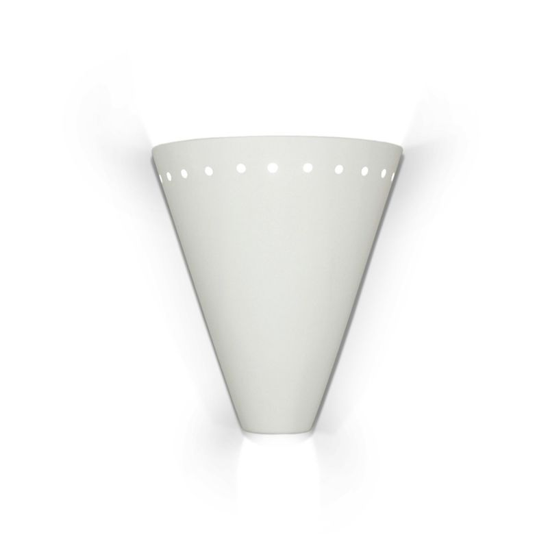 A19 804 Greenlandia One Light Wall Sconce from the Islands of Light Collection
