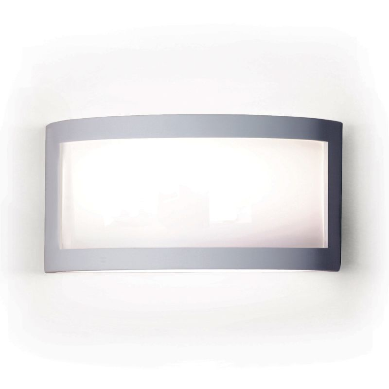 A19 F300 Translucency One Light Wall Sconce from the Silhouette Collection