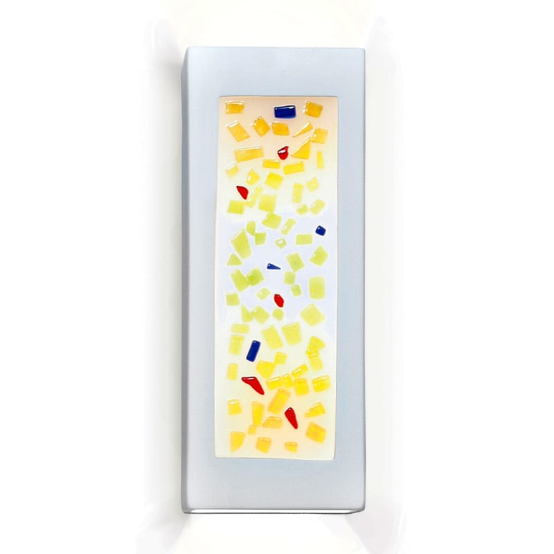 A19 G1C Gemstones One Light Wall Sconce from the Jewel Collection