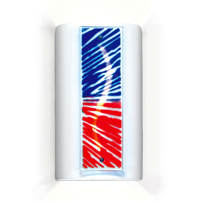A19 G3E Fourth Of July One Light Wall Sconce from the Jewel Collection