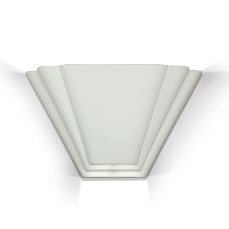 A19 701 Bermuda Art Deco Sconce from the Islands of Light Collection