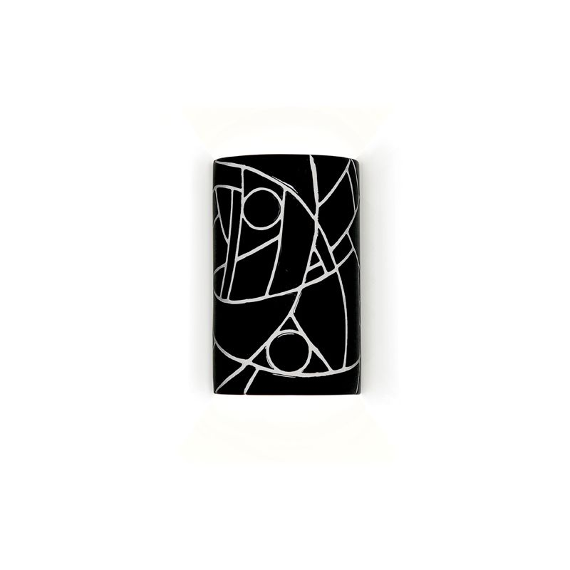 A19 M20303 Picasso One Light Wall Sconce from the Mosaic Collection