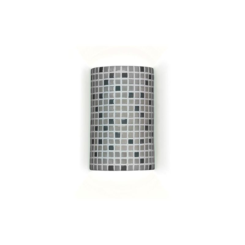 A19 M20308 Confetti One Light Wall Sconce from the Mosaic Collection