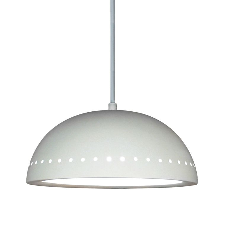 A19 P305 Cyprus One Light Pendant from the Islands of Light Collection