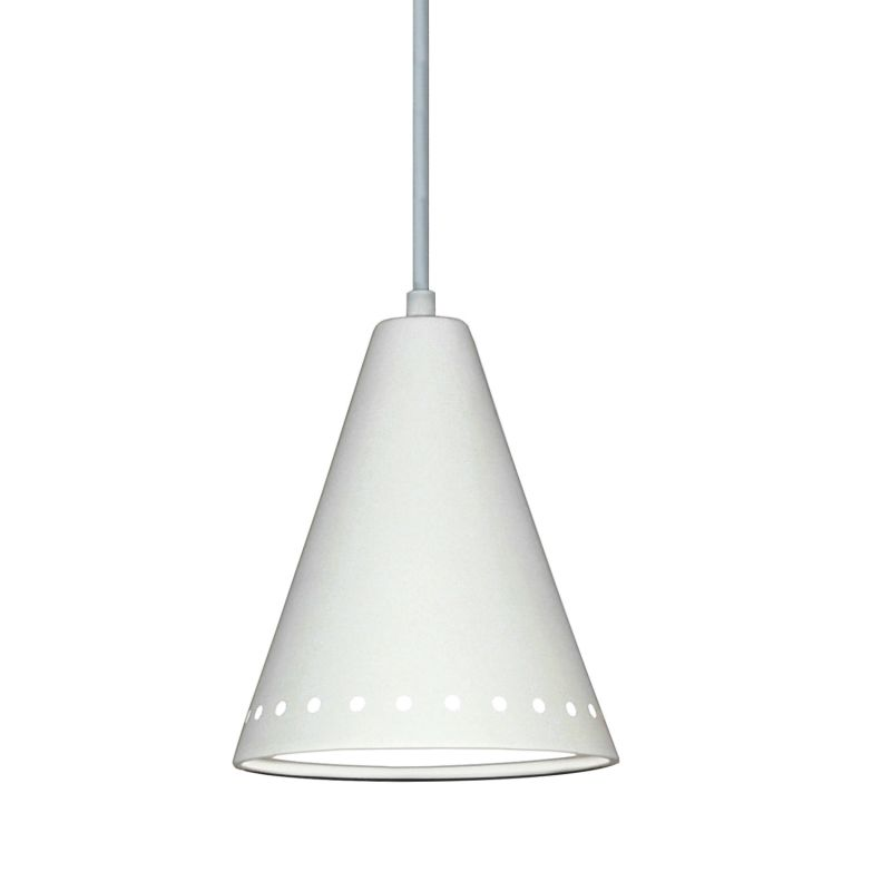 A19 P804 Greenlandia Single Light Pendant from the Islands of Light Collection