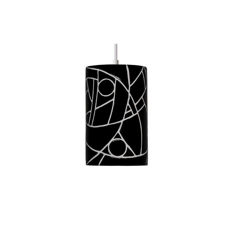 A19 PM20303 Picasso Single Light Pendant from the Mosaic Collection