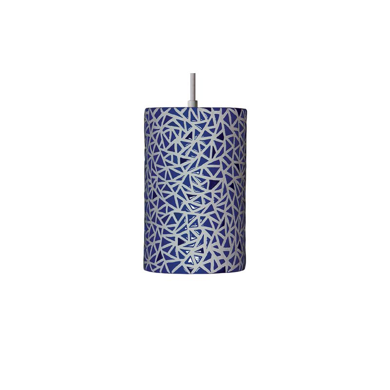 A19 PM20307 Impact Single Light Pendant from the Mosaic Collection