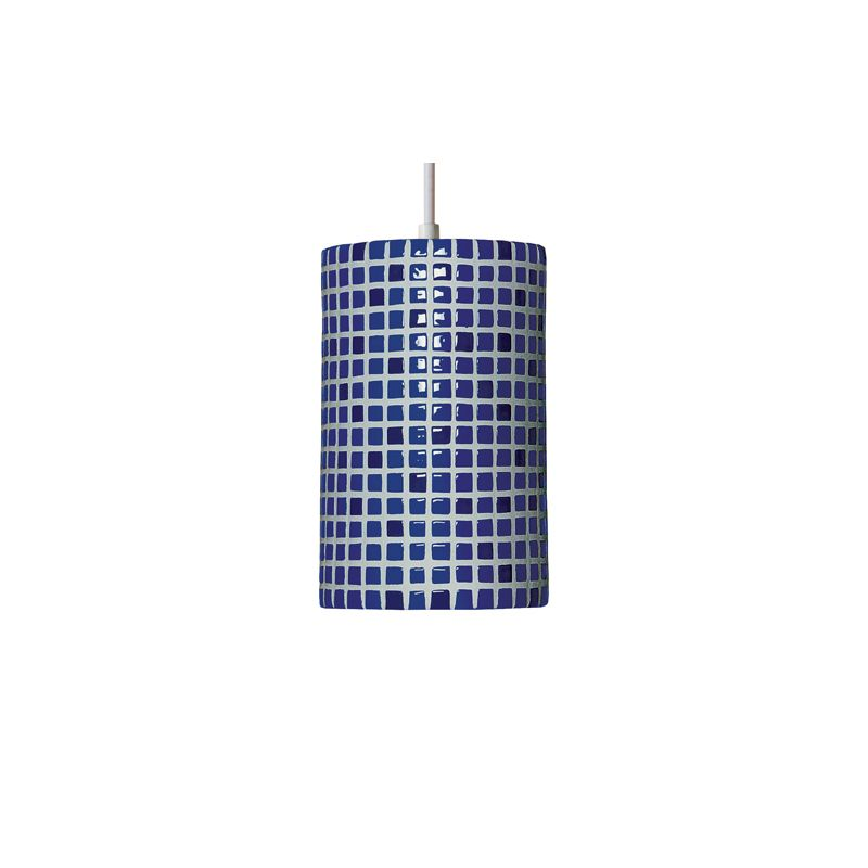 A19 PM20308 Confetti Single Light Pendant from the Mosaic Collection
